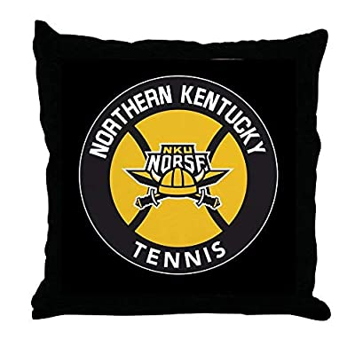 FiuFgyt Northern Kentucky NKU Norse Tennis Throw Pillows Couch Cushion Covers Canvas Sofa Pillow Case 18 x 18