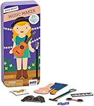 Petit Collage Shine Bright Music Maker Magentic Dress Up & Play Set, Multic