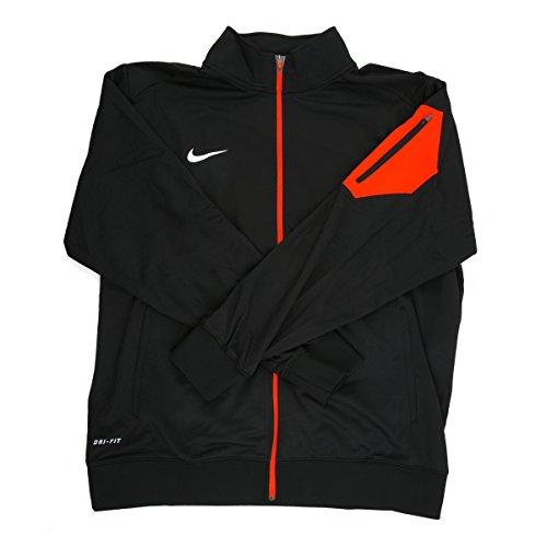 Nike Dri - Fitメンズブラック/レッドフルジップジャケット – スモール