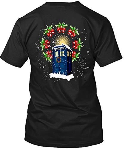 Doctor Who Tardis Police Box Ugly Christmas T