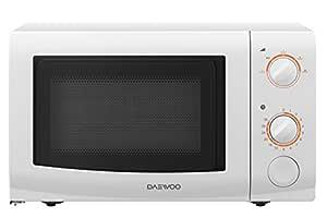 Daewoo KOR6l37 - Microondas, 700 W, 20 l, blanco