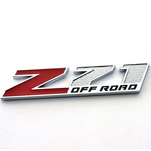 z71 off road emblems - 5
