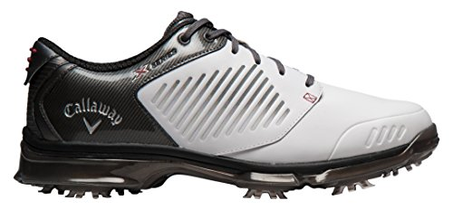 Callaway Men's Xfer Nitro Golf Shoes, (White/Grey), 10.5 UK 45 EU