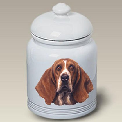 Basset Hound: Ceramic Treat Jar 10