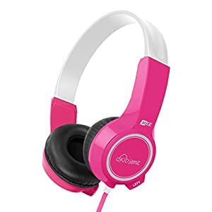 MEE audio HP-KJ25-PK-MEE KidJamz KJ25 Safe Listening Headphones for Kids with Volume-Limiting Technology (Pink)