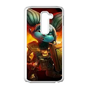 League of Legends(LOL) Poppy LG G2 Cell Phone Case White Phone Accessories LK_732856