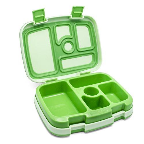 Bentgo Kids - Lunchbox mit 5 Unterteilungen, auslaufsicher (Grün)