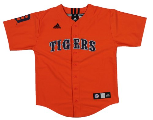 adidas MLB Detroit Tigers Cooperstown Collection Youth Jersey (Large (14-16)) Cooperstown Collection Baseball Jersey