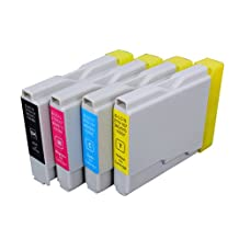 4 Pack Compatible Brother LC-51 1 Black, 1 Cyan, 1 Magenta, 1 Yellow for use with Brother DCP-130-C, DCP-350-C, DCP-540-CN, Fax-1355, Fax-1360, Intellifax 1360, Intellifax 2480C, MFC-240-C, MFC-260-C, MFC-3360-C, MFC-440-CN, MFC-465-CN, MFC-5460-CN, MFC-5860-CN, MFC-665-CW, MFC-685-CW, MFC-845-CW, MFC-885-CW. Ink Cartridges for inkjet printers. LC-51-BK , LC-51-C , LC-51-M , LC-51-Y © Zulu Inks