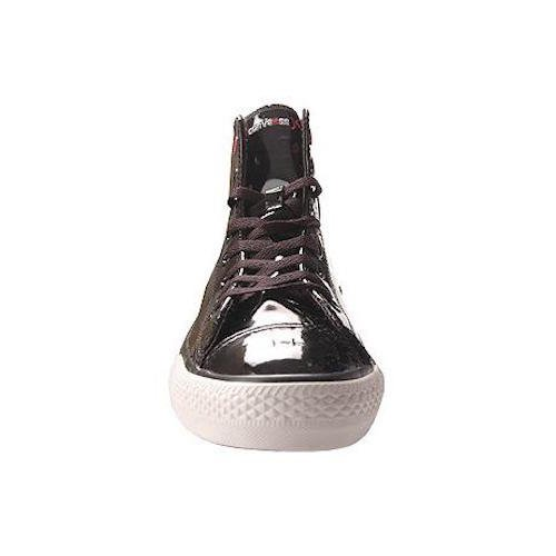 cd3c3290f42ed0 Converse Chuck Taylor All Star RED Black Patent Leather Red Stripe and Sole  Hollywood Hi 103673 (Men s 5  Women s 7)  Amazon.ca  Shoes   Handbags