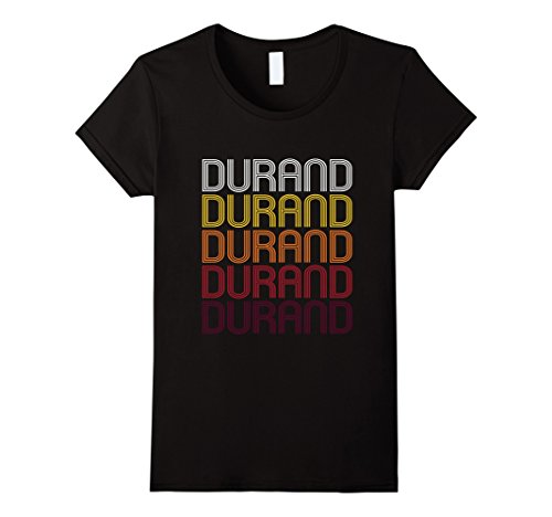 Women's Durand, WI | Vintage Style Wisconsin T-shirt Smal...