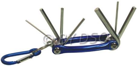 Details about  /chiave multifunzione 9-in-1 chiave esagonale chiave in lega di alluminio