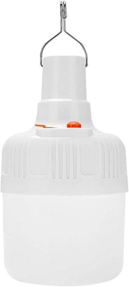 Lámpara de camping con 14 luces LED para tienda de campaña, recargable, para exteriores, enchufe de EE. UU.: Amazon.es: Juguetes y juegos