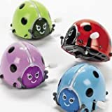 Fun Express Flipping Wind-Up Lady Bugs (1 Dozen)