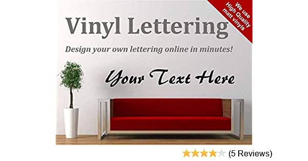 create your own wall vinyl decal letters custom wall decals