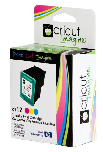 - Cricut/HP Tri-color Ink Print Cartridge, Exclusive for Cricut Imagine Machine