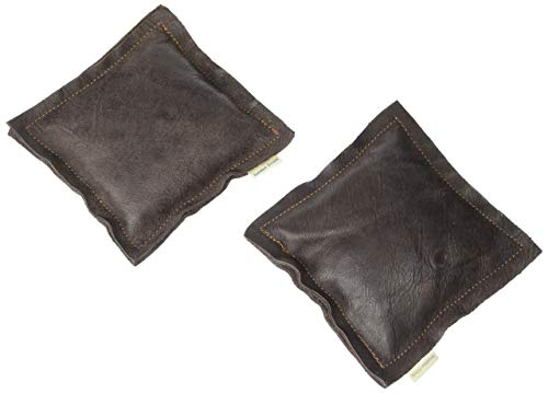 Golden Down A Pair of Elbow Leather Cushions, Premium Elbow Support Pads with Soft Microfiber, Crafted from Carefully Selected Excess New Genuine Leather, Random Color (6 x 6 Inch) by Golden Down (Image #7)