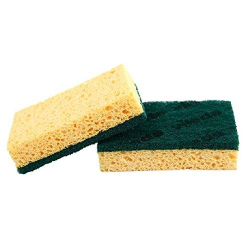AODEW Kitchen Dish Washing Sponge Scrubber Cleaning Rags Scrub Sponge Dishwashing Cloth Brushes Scrub Sponge Dish Pad Cleaner
