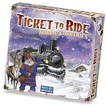 Ticket To Ride Nordic Countries from Days of Wonder
