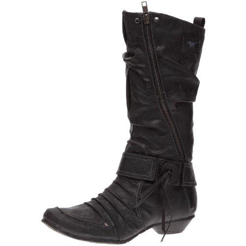 Mustang 1026505, Bottes femme , Noir (Schwarz), 36 EU Amazon.fr  Chaussures et Sacs