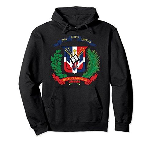 Unisex Dominican Republic Coat Of Arms National Emblem hoodie Small (Dominican Republic Coat Of Arms)