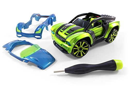 Modarri Delux S2 Muscle Car - Ultimate Toy Car: Fully Customizable - Mix and Match For Thousands of Designs - Real Steering and Suspension - Educational Construction Toy For - Cars Super Muscle
