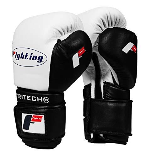 Fighting Sports Tri-Tech Tenacious Training Gloves, White/Black, 18 ()