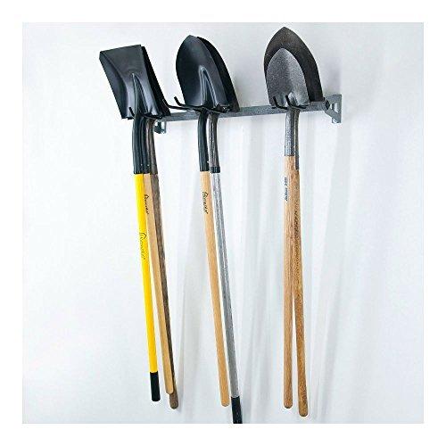 Shovel Rack Hanger Garage Storage Shed Wall Organizer Tool