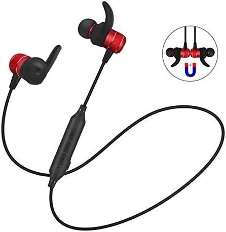 Auriculares Bluetooth V4.2 Correr Deportivo BOROFONE BE5 Inalámbrica Magnéticos Estéreo Ajuste Seguro para Gimnasio con Micrófono Incorporado
