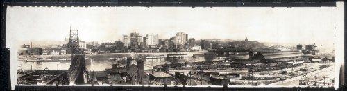 Photo Sky line view of Pittsburg, 1907 1907 (Pittsburgh Photo)