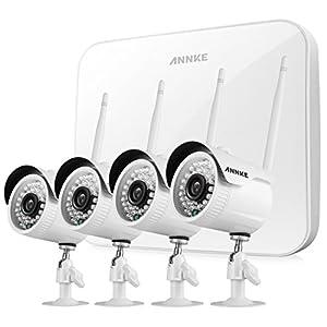 28. SANNCE 4CH 720P HD NVR Wireless Security CCTV Surveillance Systems