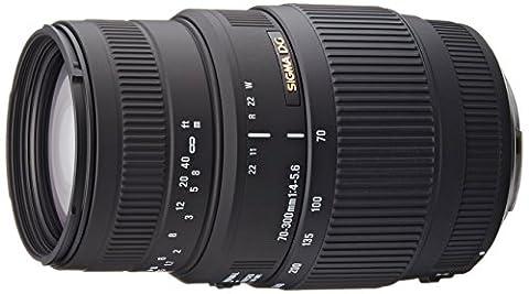 Sigma 70-300mm f/4-5.6 DG Macro Telephoto Zoom Lens for Canon