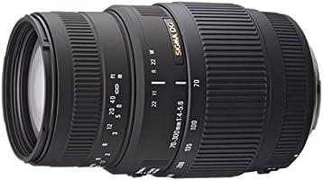 Sigma 70-300mm F/4-5.6 DG Macro Telephoto Zoom Lens for Canon DSLR Camera