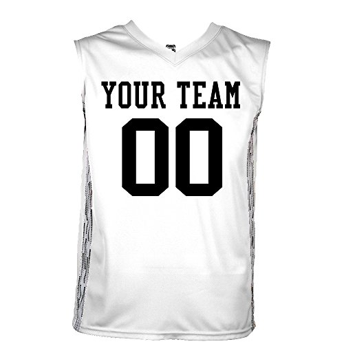 Matrix Custom Basketball Jerseys Adult large in White & White