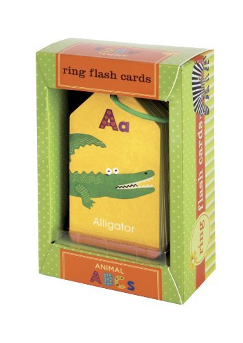 [Animal ABC's Ring Flash Cards] (Animals That Starts With Letter E)
