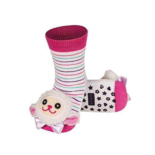 Oveja–Calcetines de bebé bebé antideslizantes bbkdom Rose Talla:19-21 Rose