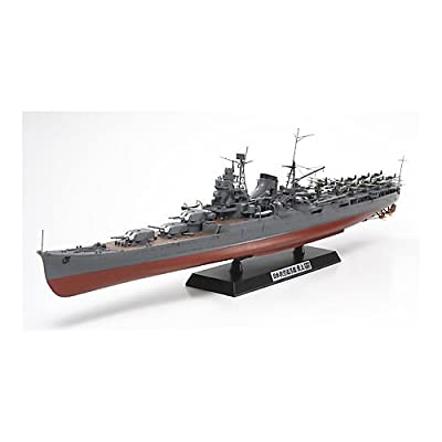 Tamiya Models Mogami Aircraft Carrier Model Kit: Toys & Games