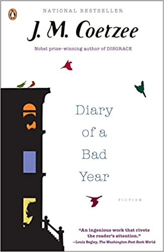 Image result for coetzee diary of a bad year