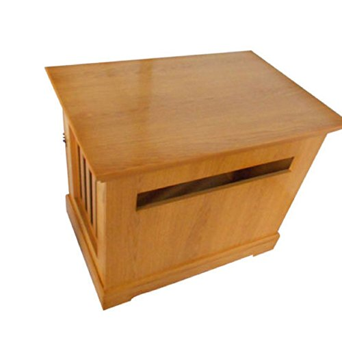 NEW! Pet Chest Wood Bed Crate Pet Cage Wooden Furniture End Table Natural