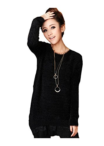 CA Mode Women's Pullover Fluffy Knitted Sweater Knitwear Jumper (Ca Sweater compare prices)