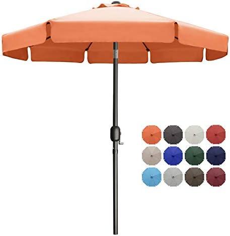 MASTERCANOPY Valance Patio Umbrella OutdoorMarket Table Umbrella