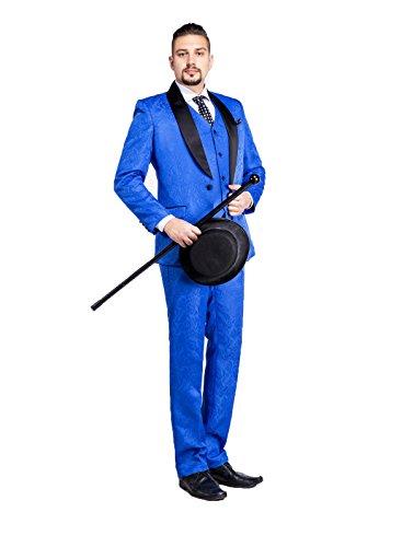 Discount SZCM Men's Classic Fit 3 Piece Wedding Formal Suits