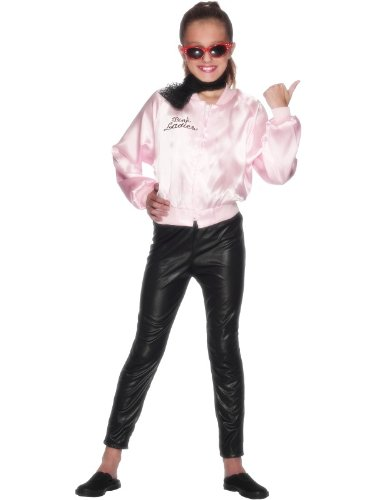 Pink Children's Grease Pink Ladies Jacket (Grease Female Characters)