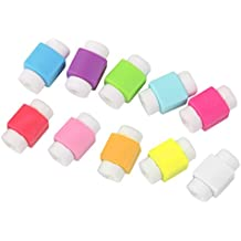10pcs Protector Saver Cover for iPhone iPad USB Charger Cable Cord