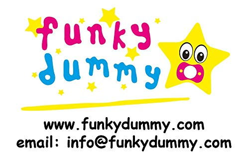 Dumbo Sizes /& Colours FUNKY DUMMY Personalised Dummy Pacifier Soother All TEATS