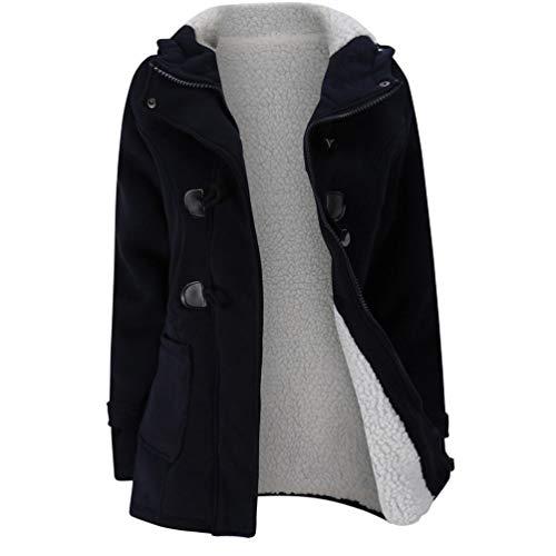 Price comparison product image Gyoume Winter Overcoat Jackets Plus Size Coat Women Teen School Hoodies Sweater Coat Tops Warm Windbreaker