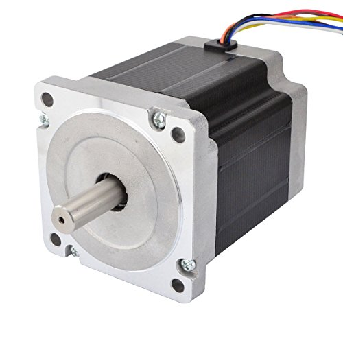 Nema 34 CNC Step Motor 8 Wires 708oz.in/5Nm 3.0A Bipolar/Unipoar CNC Mill Lathe