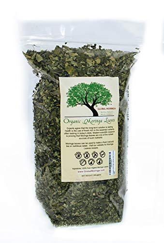 Organic Moringa Leaves 200 Grams (Best Loose Leaf Chewing Tobacco)