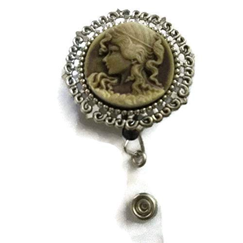 Cameo 3D Gold and Silver badge holder professional ID wear, perfect co-worker gift for all seasons