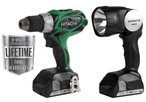 Hitachi DS18DSALX 18V 1/2-Inch Driver Drill (Discontinued by manufacturer)
